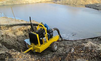 Мотопомпа Strong производства ПСМ для сильнозагрязненной воды