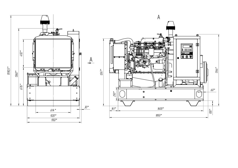 электрическая схема эд-200-т400