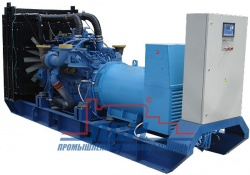 Высоковольтный дизельный генератор ПСМ ADM-640 6.3 kV