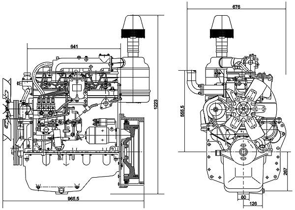 ММЗ Д-243, дизельный двигатель, Минский моторный завод (Белоруссия)