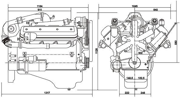 двигателя ЯМЗ-238Д