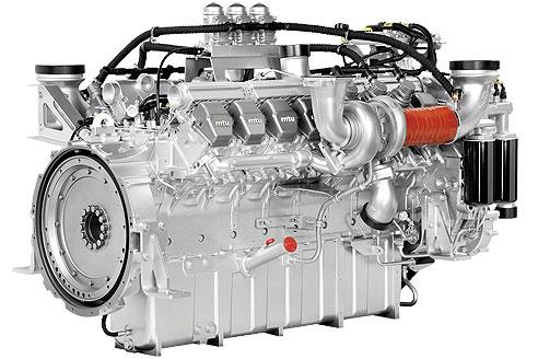 Дизельный двигатель MTU 16V2000G65