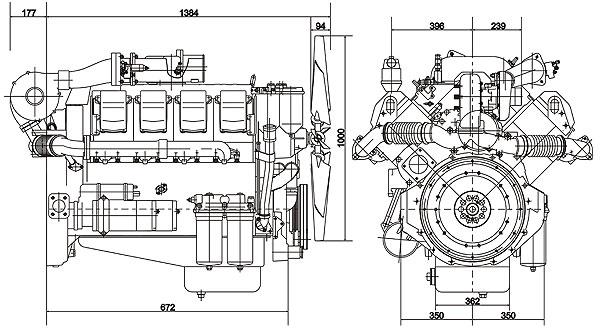 Габаритный чертеж ТМЗ-8525.10